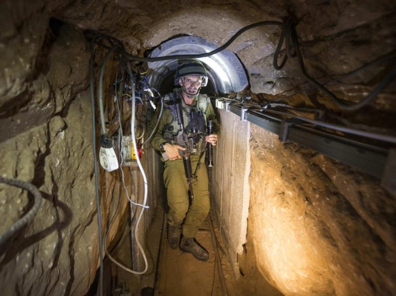 Подземные туннели в Газе