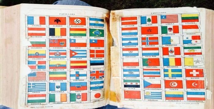 Drapeau de la Palestine en 1939 était juif