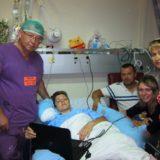 С Еленой и ее семьей