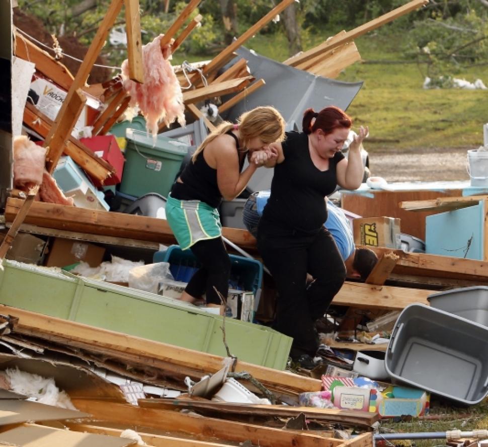 06 Мощные штормы и ураганы штат Техас