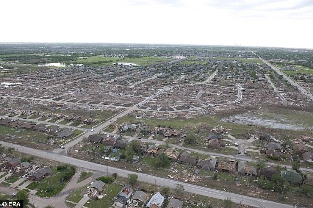 09 Циклон обрушился на Оклахому и Канзас