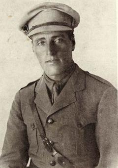 Иосиф Трумпельдор во время службы в британской армии
