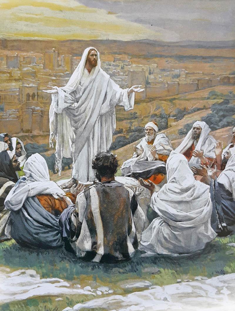 Художник Джеймс Тиссот. Иисус с учениками /1894г./